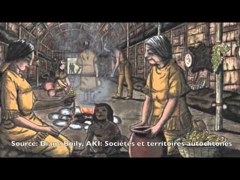 Les hommes iroquoiens vers 1500