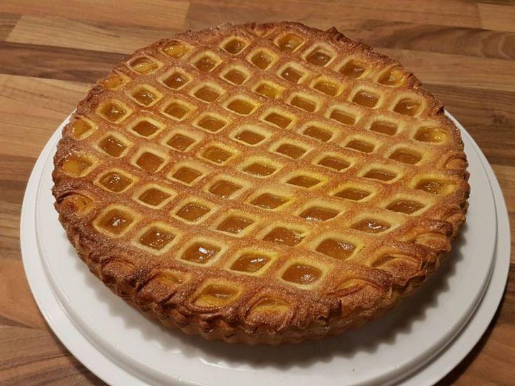 Abrikozenvlaai met latjes - recept voor een heerlijke vlaai - De Bakclub