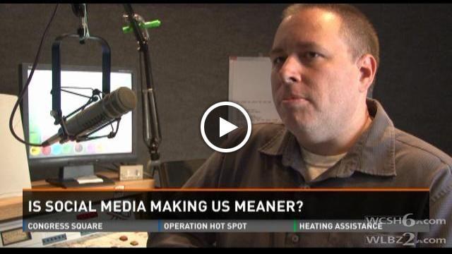 Is social media making us meaner?