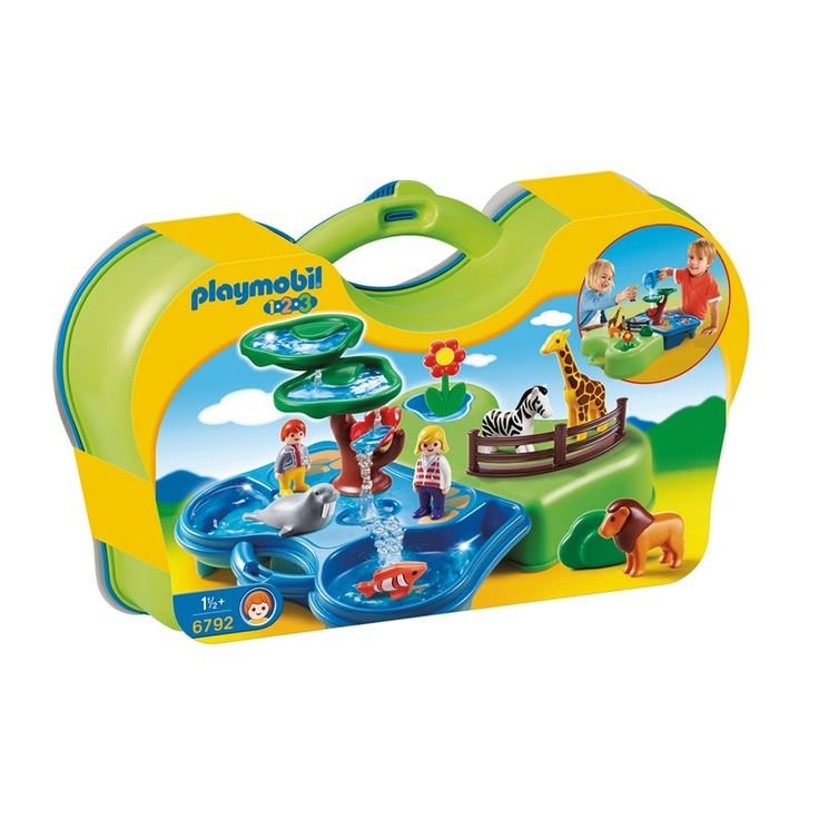 Playmobil 1.2.3 - Take Along Zoo & Aquarium by Playmobil | Toys | chapters.indigo.ca