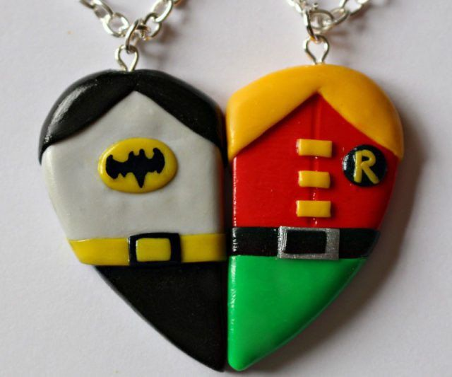 Batman And Robin Friendship Necklace - https://tiwib.co/batman-and-robin-friendship-necklace/ #Batman, #Jewelry #gifts #giftideas #2017giftideas #xmas