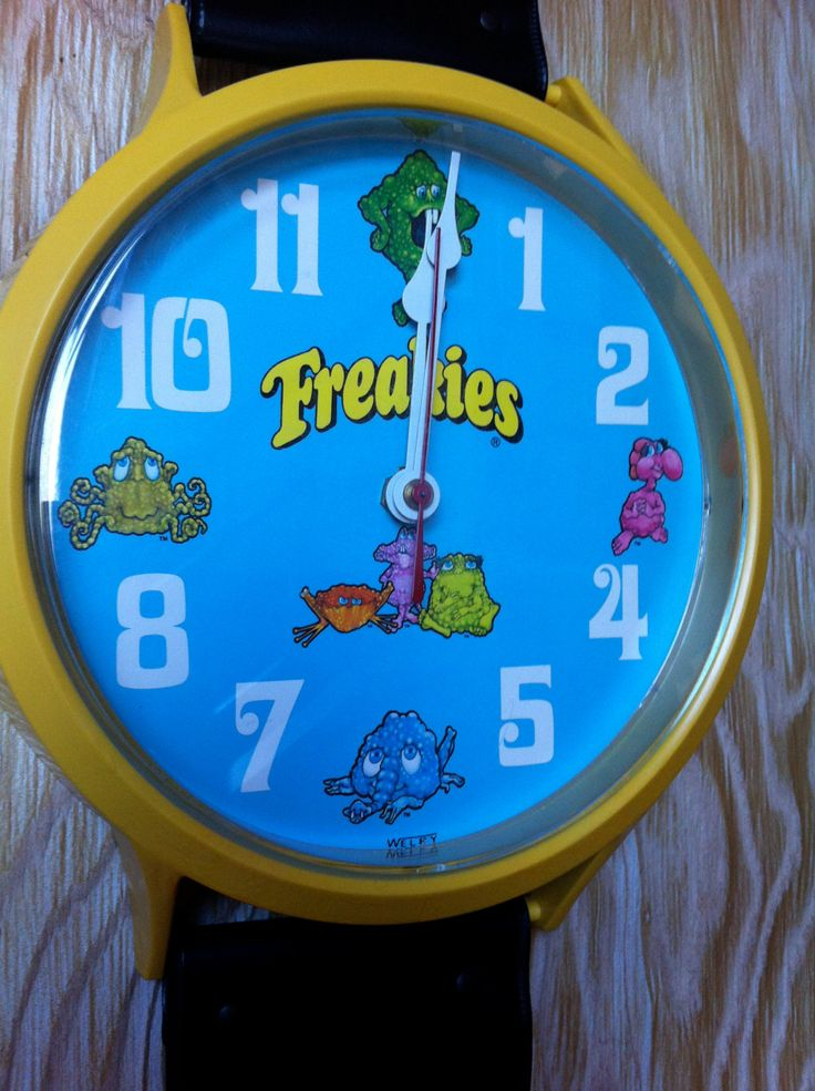 Vintage Freakies Cereal Welby Wrist Watch Electric Wall Clock 1970s Advertising Monsters Ralston by theplunderdome on Etsy