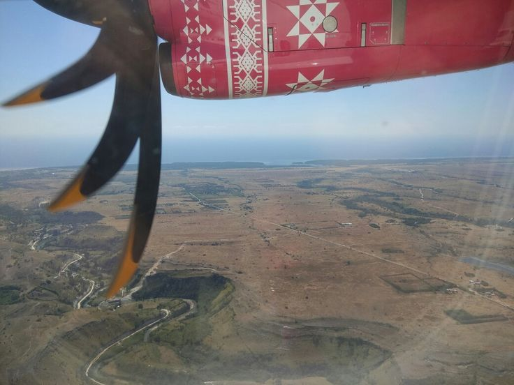 East Sumba from the air