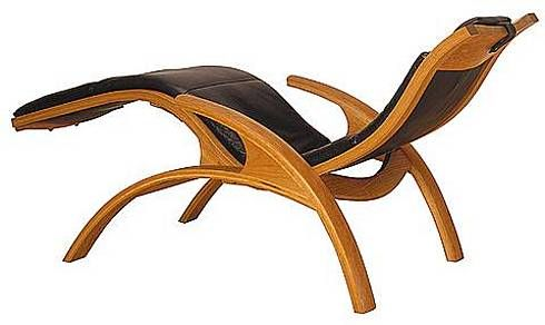 Edo Rocking Chair and CHZ Chaise Lounge from Thomas Moser - Furniture Fashion