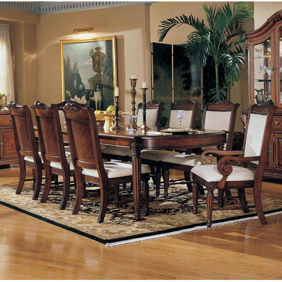 Broyhill dining room furniture dining room furniture for Formal dining room furniture sets