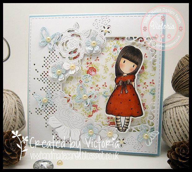 Vixx Handmade Cards: SUGAR NELLIE DT POST ~ GORJUSS WEEK.....
