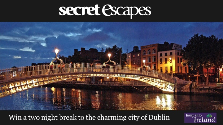 Secret Escapes are offering you the chance to win a 2 night break to Dublin, staying in one of the citys best hotels, the Croke Park Hotel. Click on the link for your chance to win.