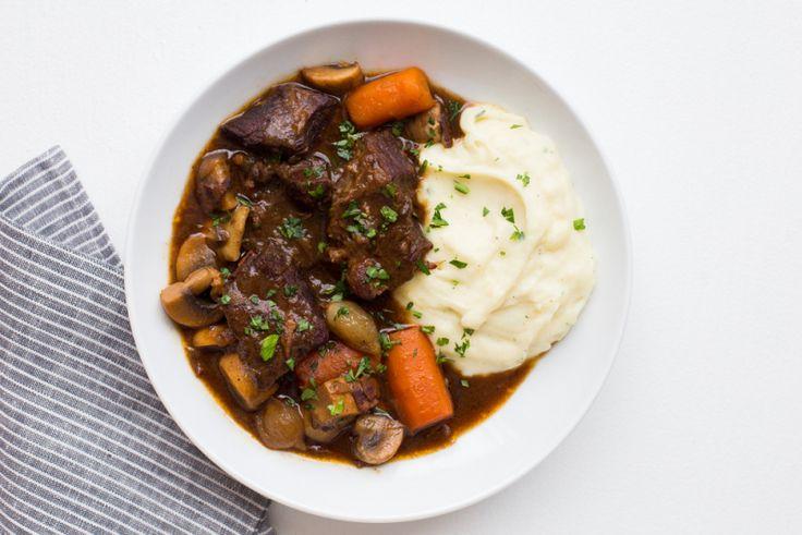 Paleo Beef Bourguignon, Revisited | The Domestic Man