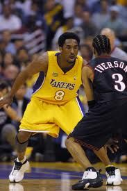 This Day In Basketball History: June 15,2001 - The Los Angeles Lakers beat the Philadelphia 76ers, 108-96, to win the NBA championship with the best winning percentage in playoff history: 93.8% (15-1).  keepinitrealsports.tumblr.com  keepinitrealsports.wordpress.com  Mobile- m.keepinitrealsports.com