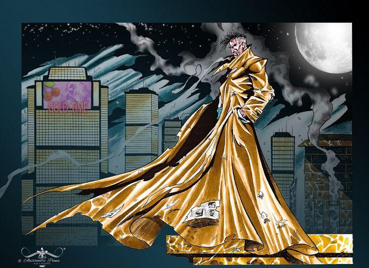 COMICS VINTAGE RESTYLING :: ALESSANDRO PINNA ARTWORK