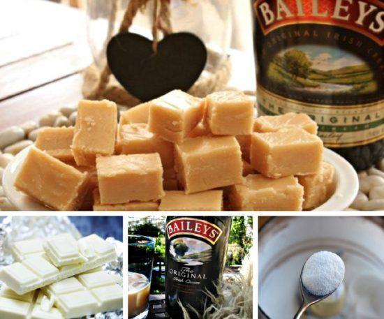 Baileys Irish Cream White Chocolate Fudge Recipe | The WHOot