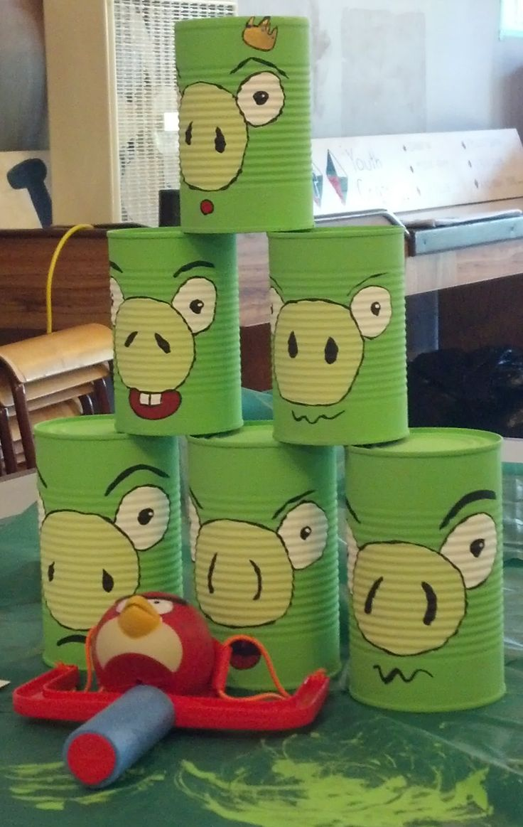 Just thought this was cute, though I doubt I'll ever throw an angry birds party.