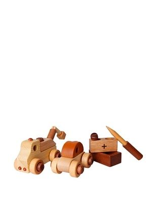 36% OFF Soopsori Wooden Cars with Tool Kit