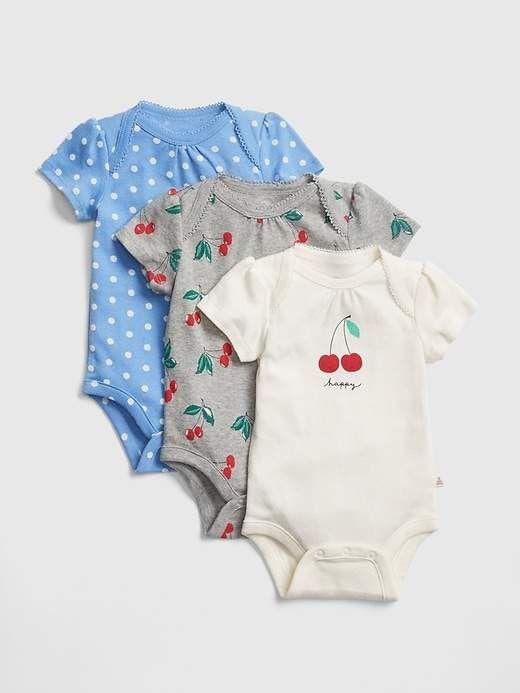 Cherry linen baby overalls vintage children lond sleeves