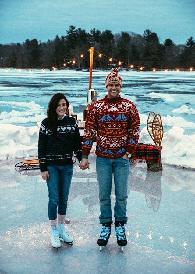 448b742dc1d Winter Skate Date (Classy Girls Wear Pearls) | KJP & SV | Classy ...