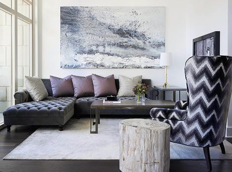 25 best ideas about plum living rooms on pinterest plum - Gray and plum living room ...
