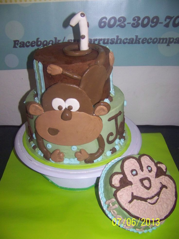 25+ best ideas about Monkey Birthday Cakes on Pinterest ...