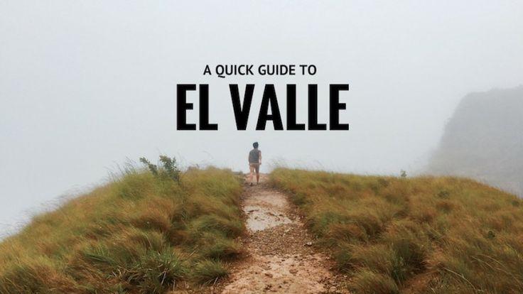 A Quick Guide To El Valle de Antón, Panama