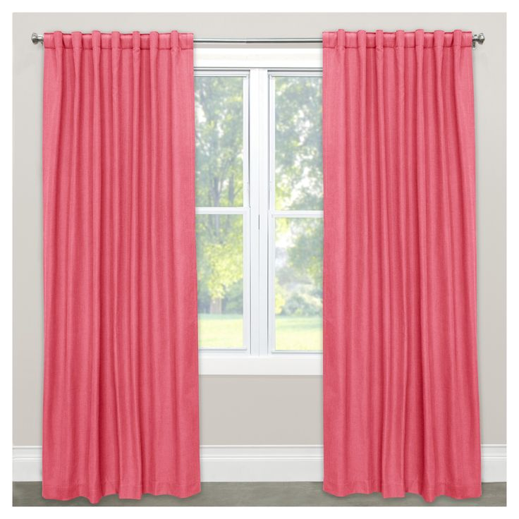 Light Pink Curtains Target: Best 25+ Coral Curtains Ideas On Pinterest