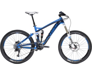 Trek Slash 8 – 2013    Slash was bred for the extreme demands of Megavalanche Enduro events.  The Trek Slash 8 was built for the most technical, high-speed riding without sacrificing pedaling efficiency. Built for tackling the entire mountain.