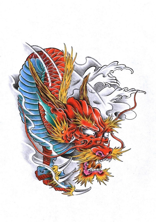 30 best images about tattoo dragon on pinterest don ed hardy koi dragon tattoo and chinese dragon. Black Bedroom Furniture Sets. Home Design Ideas