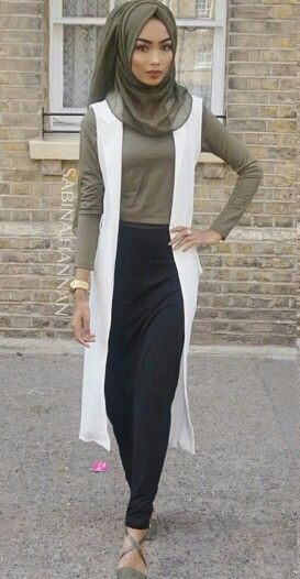 Pinterest: eighthhorcruxx. Love this look with the khaki green. Love the shoes too. Sabina Hannan.