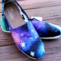 Galaxy TOMS by StunnaDeanna on Etsy