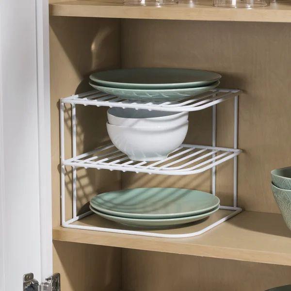 Galvanized Kitchen Counter Shelves Corner Shelves Kitchen Rack Kitchen Organization