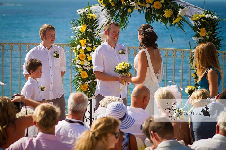 Weddings in Zante By The Bridal Consultant - Weddings at the Balcony in Zakynthos