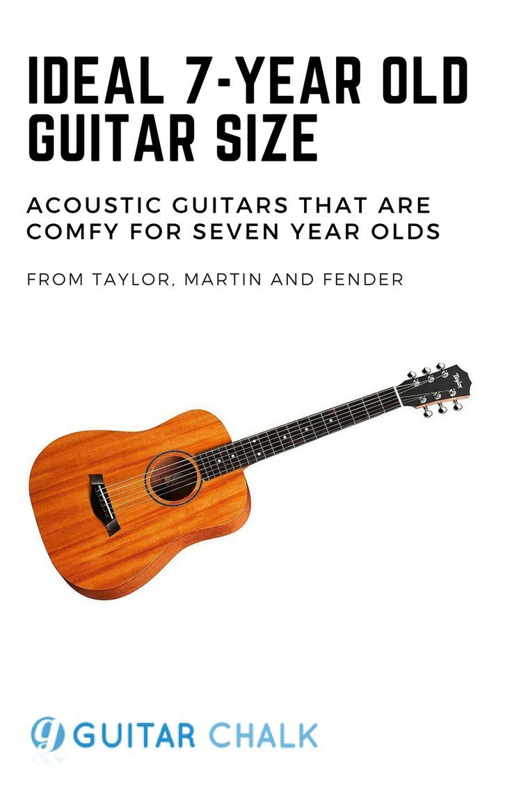 The Most Functional And Ideal Guitar Size For A Seven Year Old Guitar Student Focusing On The 3 4 Acoustic Body Sh Guitar Online Guitar Lessons Guitar Lessons