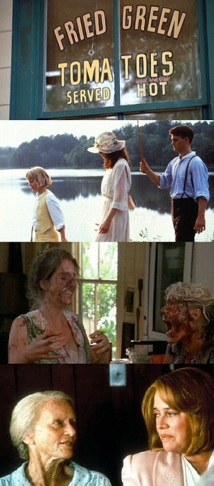 Fried Green Tomatoes, 1991 (dir.Jon Avnet) the real  restaurant is about an hour and half from my house....
