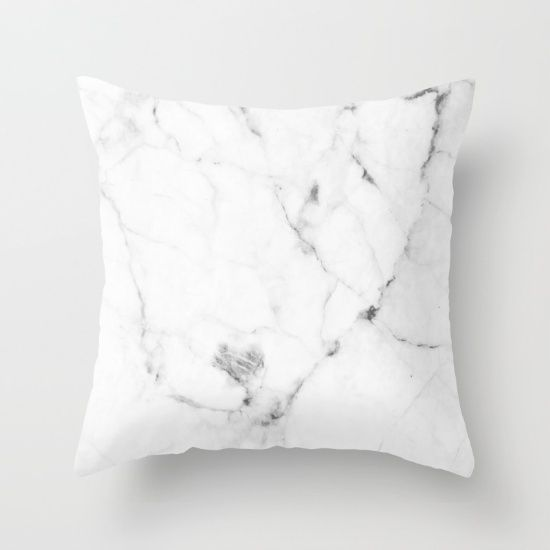 Marble Pillow Cover // Cushion Cover // Scandinavian Design // Interiors // Minimalist // Black and White // Greys // Nordic