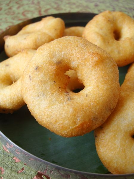 Vadas - light and fluffy on the inside with a crisp exterior, packed with flavor, make for a perfect offering to Goddess Durga. This Navratri special Vada recipe is basically a classic South Indian breakfast fare served with sambar and chutney.