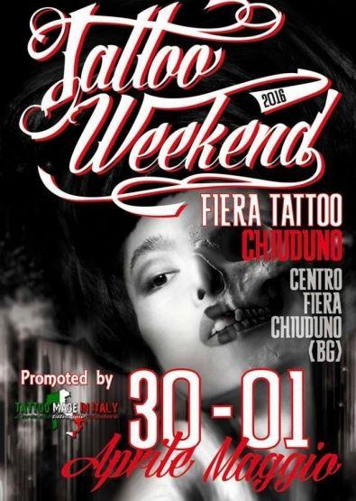 Tattoo Weekend Chiuduno 2016