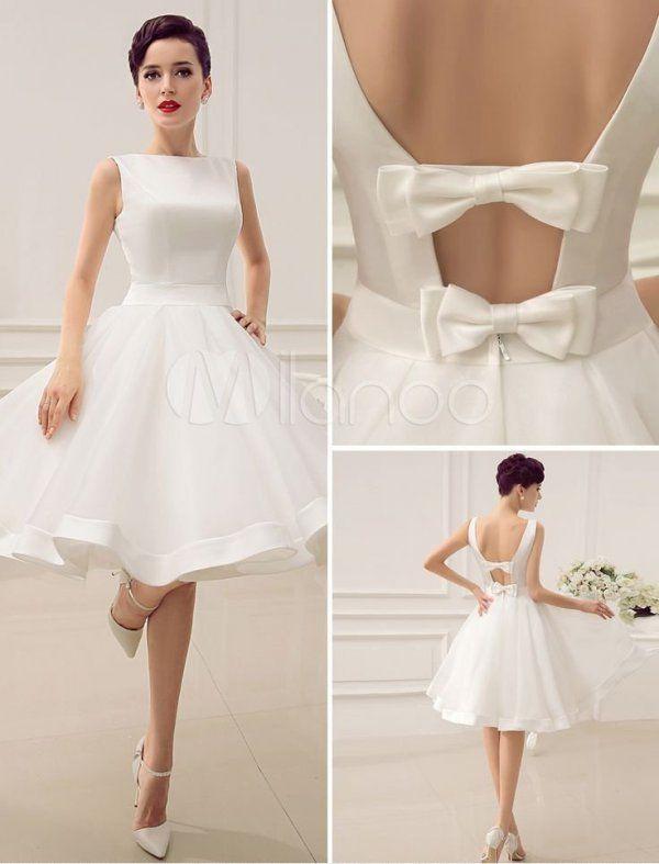 Ślub cywilny lub krótka suknia ślubna - piękna, prawda