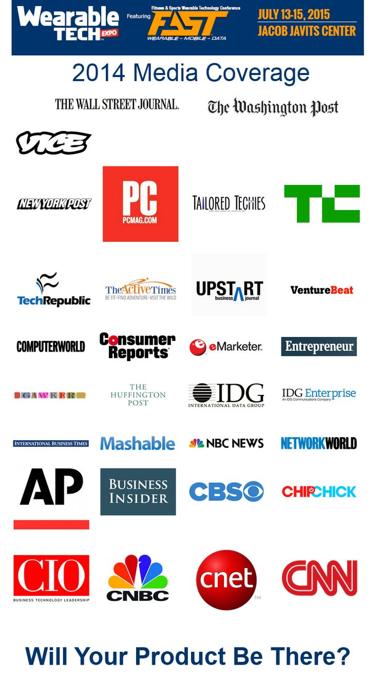 Hundreds of Press are Waiting to See You Demo Your #WearableTech. Give your company the opportunity to showcase your products and solutions live to a powerful audience. An audience representing leaders in both #media and #technology.