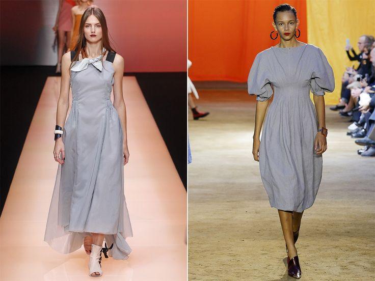 Модный цвета весна-лето 2016 - сиренево-серый