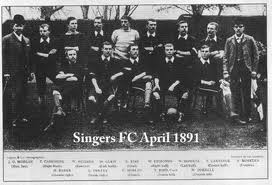Singers Football Club started in 1883 by a group of employees of the Singer Bicycle Factory in Coventry. In 1898 the club became Coventry City FC.