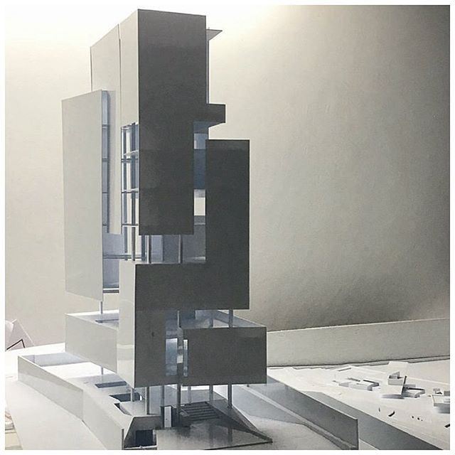 { office tower } // awesome design and model by @andramatin architects
