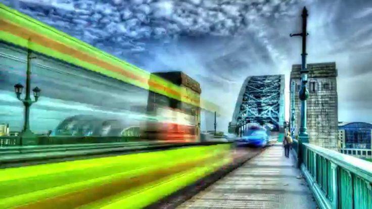 NewcastleGateshead: HDR time lapse of Newcastle Upon Tyne and Gateshead