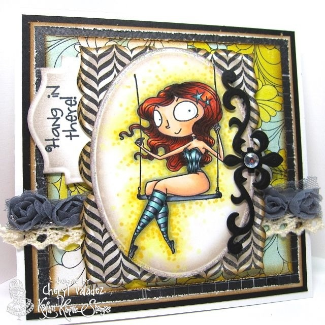 The Ink Trap: A new challenge at Kraftin' Kimmie Stamps: Something old, Something new