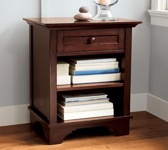 cynthia bedside table pottery barn