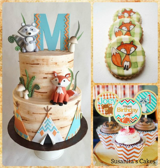 Ideas de Dulces para una celebración con tema Woodland!...perfecto para Primeros Cumpleaños, Bautizos ó Baby Showers!.. #ideas #dulces #sweets #cake #cupcake #fiestainfantil #cookies #torta #tarta #pastel #woodlandparty #fox #foxparty #zorro #otoño #autunm #fall #celebraconestilo #susanitascakes #talentovenezolano mas en instagram @susanitascakes