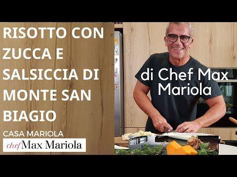 RISOTTO CON ZUCCA E SALSICCIA DI MONTE SAN BIAGIO Chef