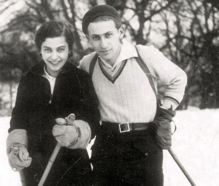 Radnóti Miklós és Gyarmati Fanni 1935.