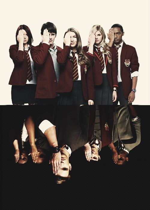 House Of Anubis sibuna season 2 on top season 3 on bottom