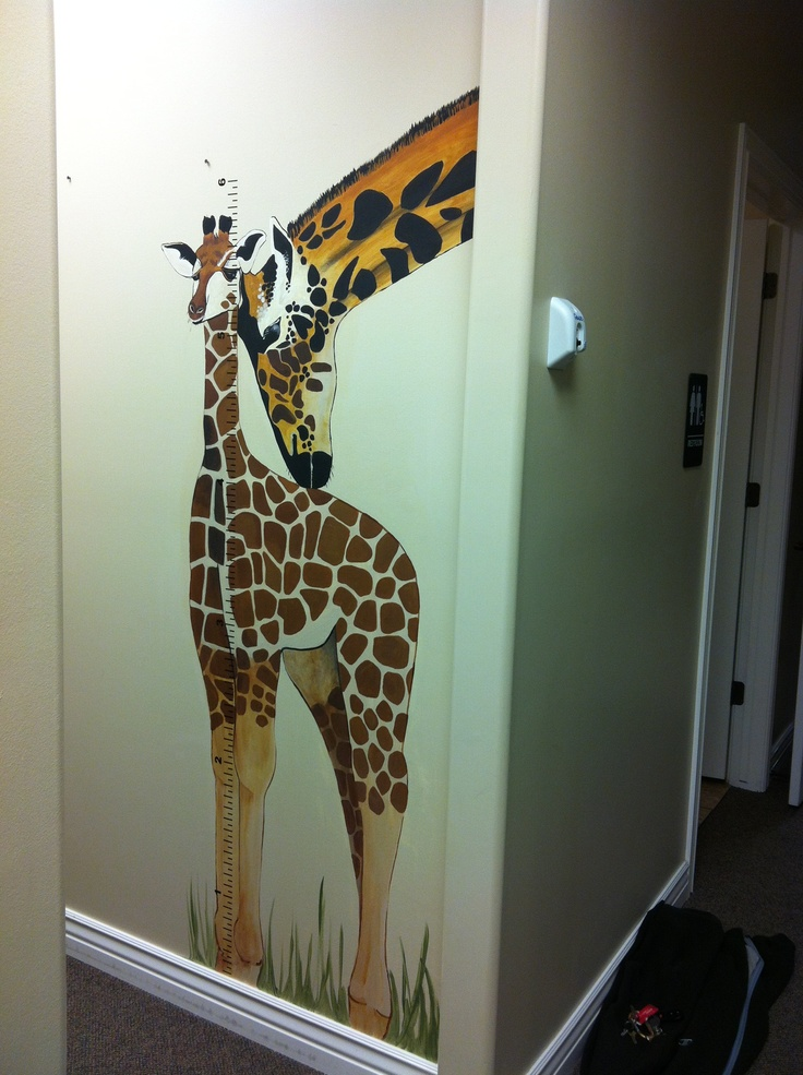 Wall Painting for pediatric dentist office