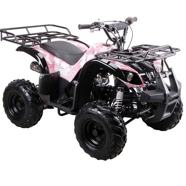 Complete Go-Karts and Frames 64656: Coolster 3125R New 125Cc Kids Atv Fully Auto With Reverse M Army Pink BUY IT NOW ONLY: $799.95