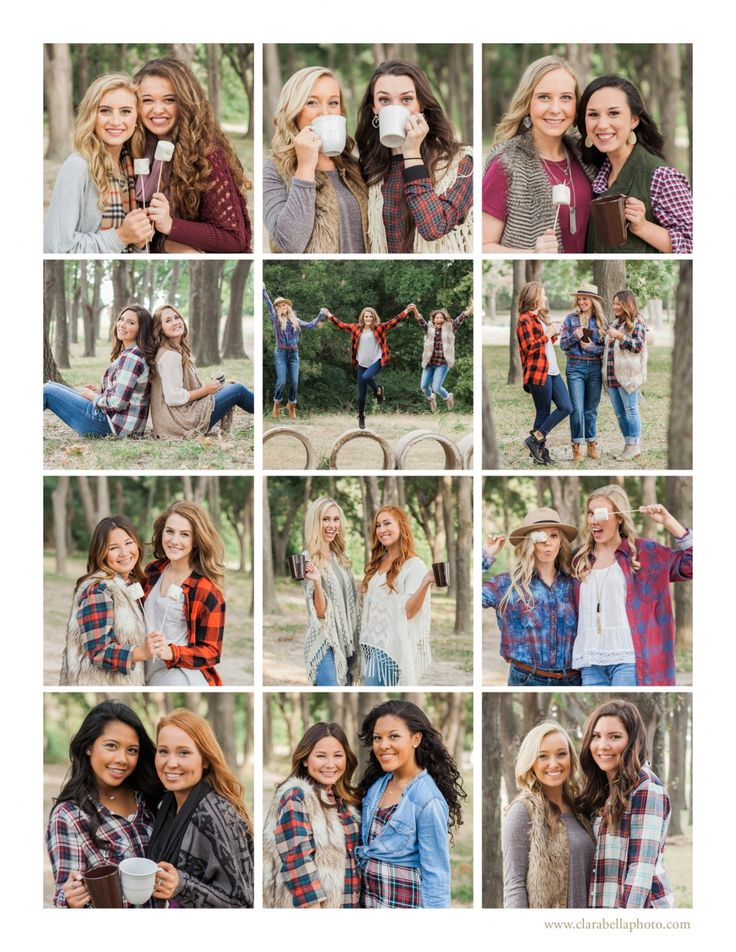 Clara Bella Models {Class of 2016} Dallas Senior Photographer | Senior Model Rep | Group Photoshoot | Campfire | Fall
