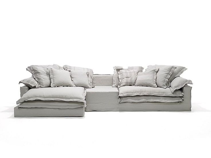 Corner upholstered sofa JAN'S NEW SOFA Jan's Collection by LINTELOO | design Paola Navone